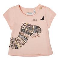 textil Niña Camisetas manga corta Ikks XS10100-32 Rosa