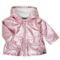 textil Niña Parkas Ikks XS42010-31 Rosa