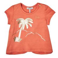 textil Niña Camisetas manga corta Ikks XS10080-67 Naranja