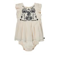 textil Niña Vestidos cortos Ikks XS30060-11 Blanco