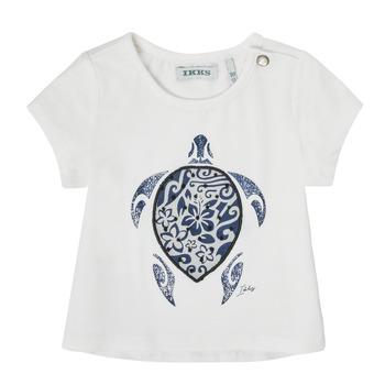 textil Niña Camisetas manga corta Ikks XS10070-19 Blanco