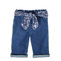 textil Niña Vaqueros rectos Ikks XS29000-86 Azul