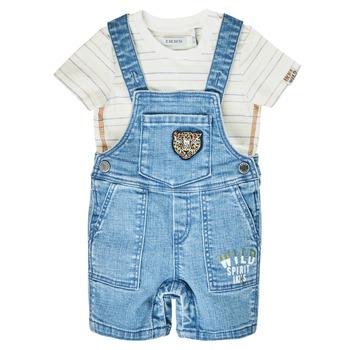 textil Niño Monos / Petos Ikks XS37011-84 Azul