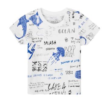 textil Niño Camisetas manga corta Ikks XS10021-19 Multicolor