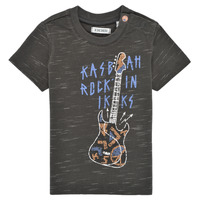 textil Niño Camisetas manga corta Ikks XS10091-27 Gris