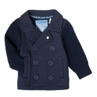 textil Niño Chaquetas de punto Ikks XS17001-48 Marino
