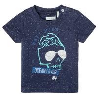 textil Niño Camisetas manga corta Ikks XS10011-48 Marino