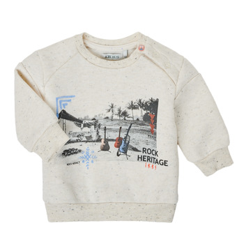 textil Niño Sudaderas Ikks XS15011-60 Blanco