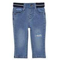 textil Niño Vaqueros slim Ikks XS29001-83 Azul