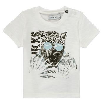 textil Niño Camisetas manga corta Ikks XS10161-19 Blanco