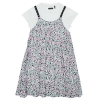 textil Niña Vestidos cortos Ikks XS30182-19-C Multicolor