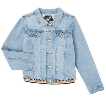 textil Niña Chaquetas denim Ikks XS40152-84-C Azul