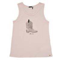 textil Niña Camisetas sin mangas Ikks XS10302-31-C Rosa