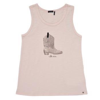textil Niña Camisetas sin mangas Ikks XS10302-31-J Rosa
