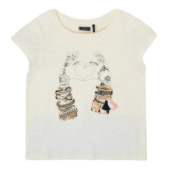 textil Niña Camisetas manga corta Ikks XS10002-11-C Blanco