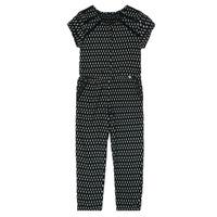 textil Niña Monos / Petos Ikks XS32012-02-J Negro