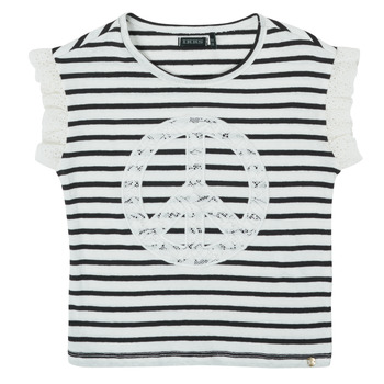 textil Niña Camisetas manga corta Ikks XS10022-19-C Multicolor