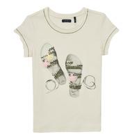 textil Niña Camisetas manga corta Ikks XS10132-11-C Blanco