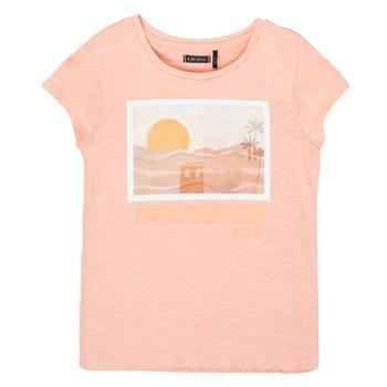 textil Niña Camisetas manga corta Ikks XS10332-32-C Rosa