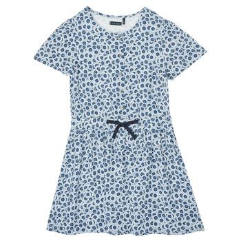 textil Niña Vestidos cortos Ikks XS30102-48-C Azul