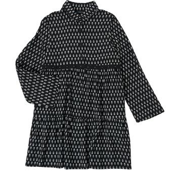 textil Niña Vestidos cortos Ikks XS30002-02-C Negro