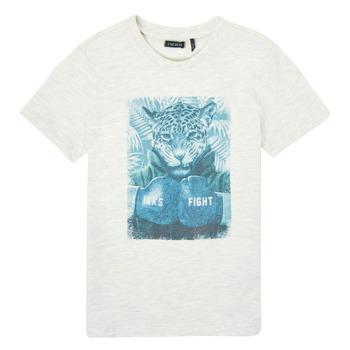 textil Niño Camisetas manga corta Ikks XS10183-22-C Blanco