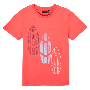 textil Niño Camisetas manga corta Ikks XS10043-79-C Rojo