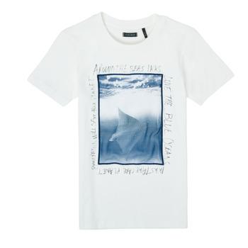 textil Niño Camisetas manga corta Ikks XS10033-19-C Blanco