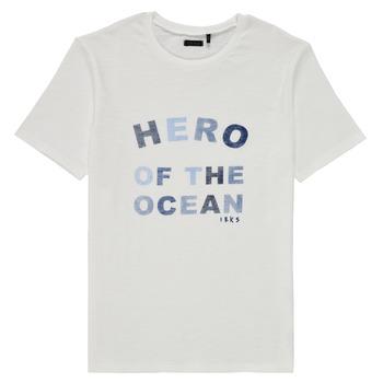textil Niño Camisetas manga corta Ikks XS10343-19-C Blanco
