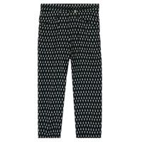 textil Niña Pantalones fluidos Ikks XS22002-02-J Negro