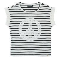 textil Niña Camisetas manga corta Ikks XS10022-19-J Multicolor