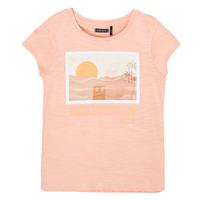 textil Niña Camisetas manga corta Ikks XS10332-32-J Rosa