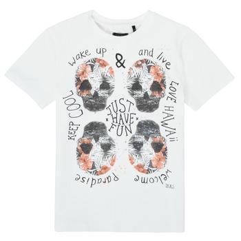 textil Niño Camisetas manga corta Ikks XS10513-19-J Blanco