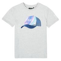 textil Niño Camisetas manga corta Ikks XS10073-24-J Gris