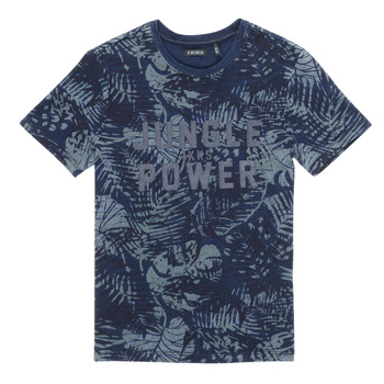 textil Niño Camisetas manga corta Ikks XS10153-46-J Marino