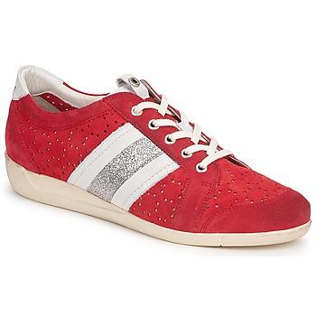 Zapatos Mujer Zapatillas bajas Janet Sport MARGOT ODETTE Rojo