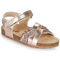 Zapatos Niña Sandalias Mod'8 KOENIA Rosa / Gold