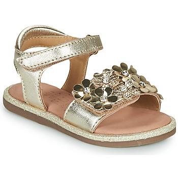 Zapatos Niña Sandalias Mod'8 PARLOTTE Oro