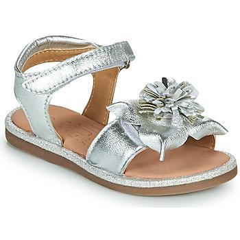 Zapatos Niña Sandalias Mod'8 PAXILLA Plata