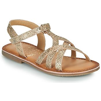 Zapatos Niña Sandalias Mod'8 CANISA Oro