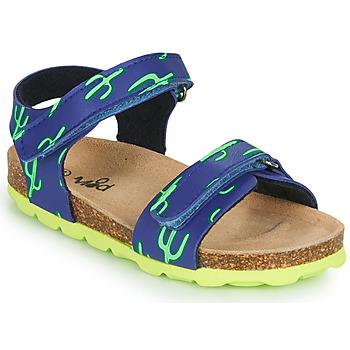 Zapatos Niño Sandalias Mod'8 KOURTIS Azul / Verde