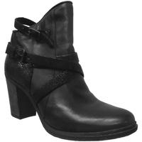 Zapatos Mujer Botines Metamorf'Ose SAFORE Cuero negro