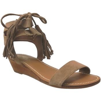 Zapatos Mujer Sandalias L'atelier Tropezien Sh417 Castaño
