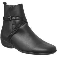 Zapatos Mujer Botines Marco Morgane Cuero negro