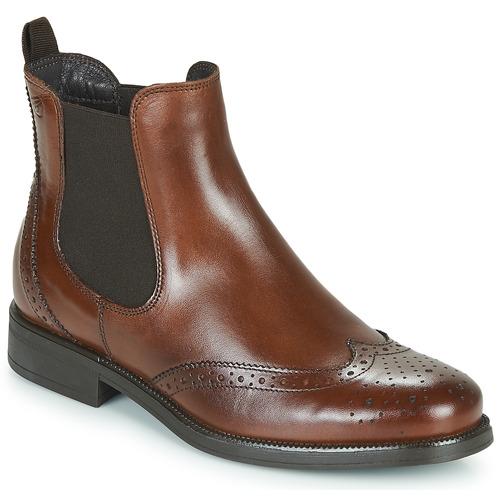 Zapatos Mujer Botas de caña baja Betty London JOSTA Marrón