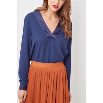 textil Mujer Tops / Blusas Love&money H15187 AZUL