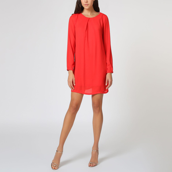 textil Mujer Vestidos cortos Love&money K69377 ROJO