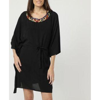 textil Mujer Vestidos cortos Love&money L30120 NEGRO