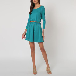 textil Mujer Vestidos cortos La Morena LA-010132 VERDE