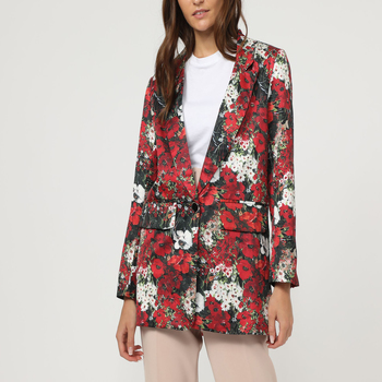 textil Mujer Chaquetas / Americana La Morena LA-260982 ROJO